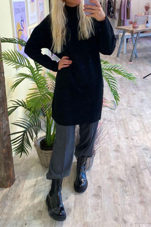 Jacqueline De Young - Kjole - JDY Ziza LS Dress - Black