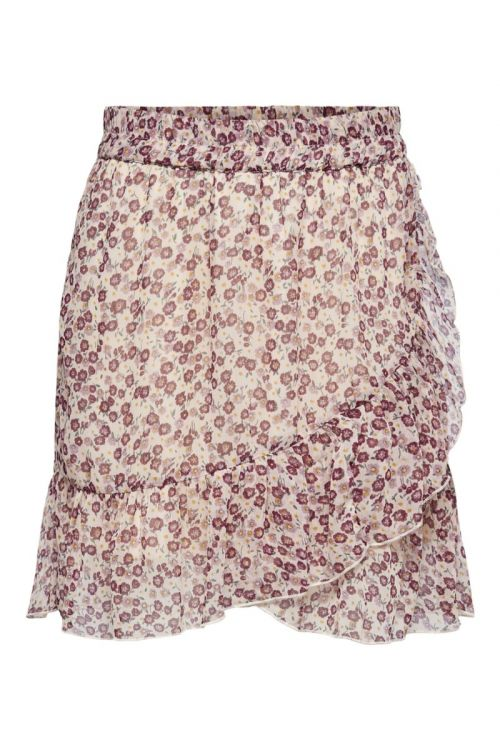 Jacqueline de Yong - Nederdel - Jennifer Life Mini Skirt - Cloud Dancer