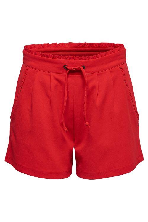 Jacqueline de Yong Shorts JDY Catia Shorts Fiery Red Front