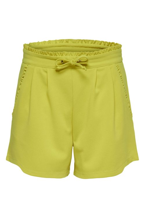 Jacqueline de Yong Shorts JDY Catia Shorts Green Sheen Front