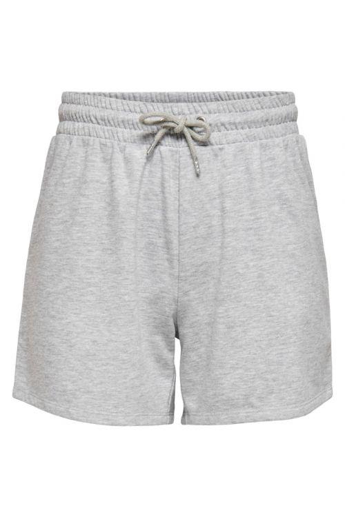 Jacqueline de Yong - Shorts - JDY Cindi Ivy Life Shorts - Light Grey Melange