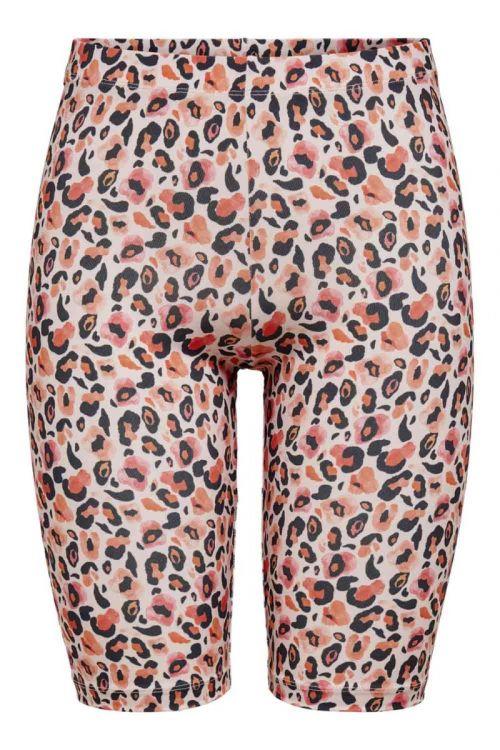 JDY - Shorts - JDY Rossy Biker Shorts - Adobe Rose
