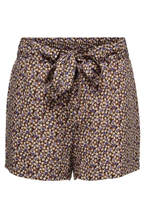 Jacqueline de Yong - Shorts - JDY Staar Life Shorts - Black/Daisy Rose