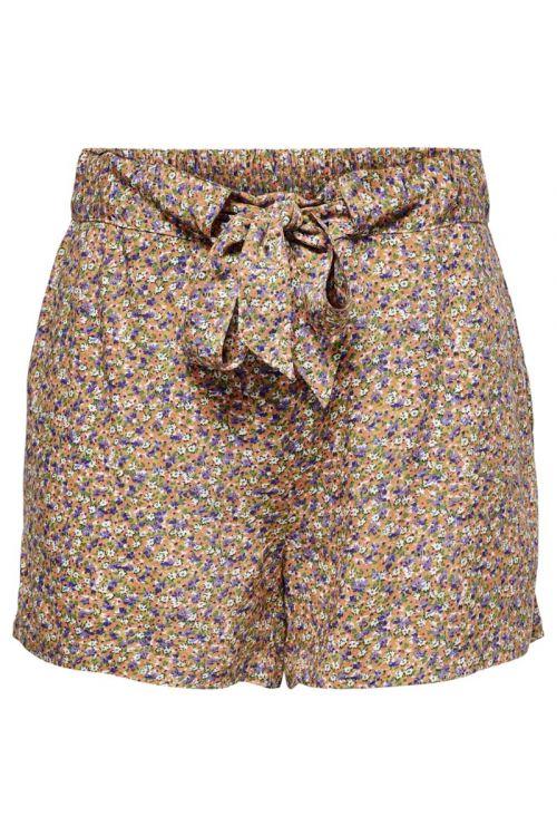 Jacqueline de Yong - Shorts - JDY Staar Life Shorts - Fall Leaf/Purple