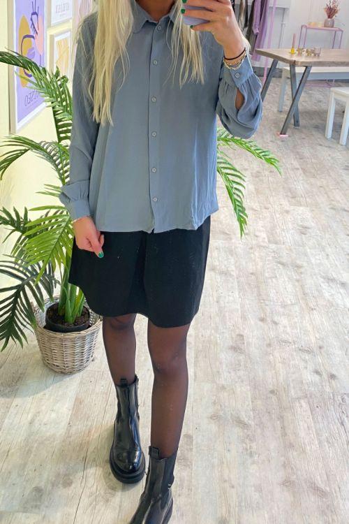 Jacqueline de Yong - Skjorte - JDY Brooke LS Shirt - Tradewinds
