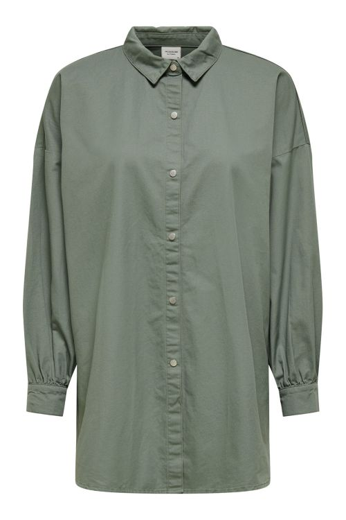 Jacqueline de Yong Skjorte JDY Miami L/S Oversized Shirt Sea Spray Front