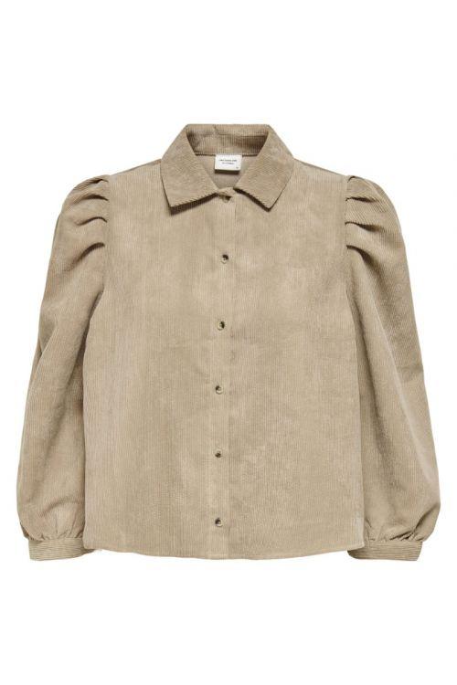 Jacqueline de Yong Skjorte JDY Ulla 3/4 Shirt Portabella Front