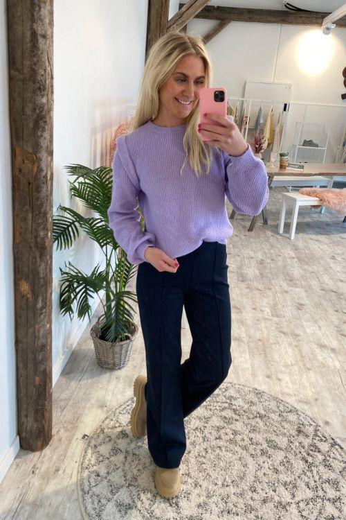 JDY - Strik - Emori LS Pullover Knit - Lavender