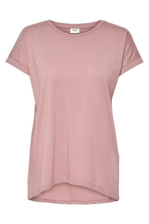 Jacqueline De Yong - T-shirt - JDY Louisa New Life S/S Top - Woodrose