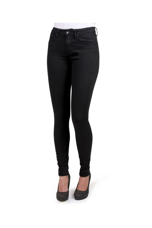 Lykke By Lykke Jeans My Favourite Regular Stretch Black Front