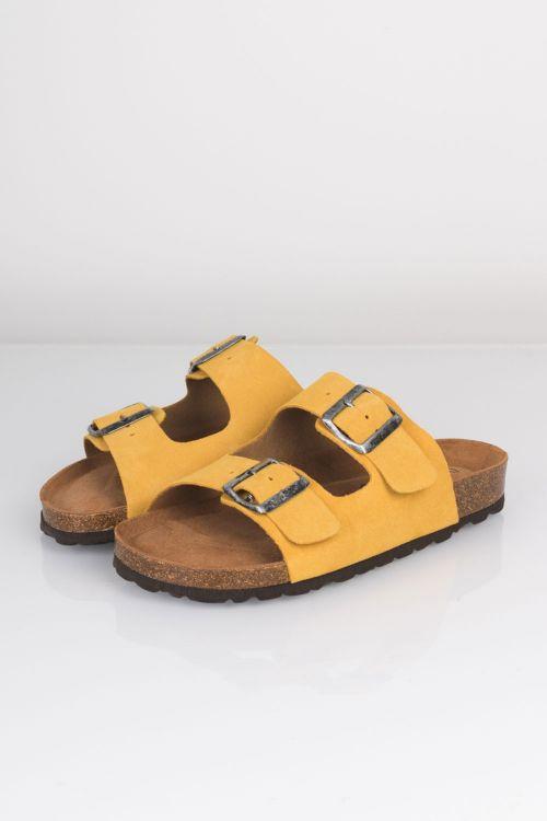 Lykke by Lykke Sandal Happy Bio Sandal Yellow Front