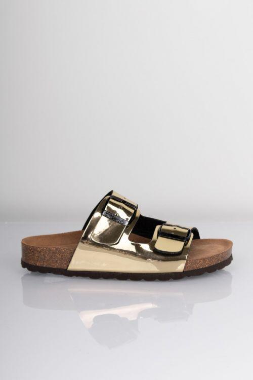 Lykke by Lykke Sandaler Happy Bio sandal Gold Metallic