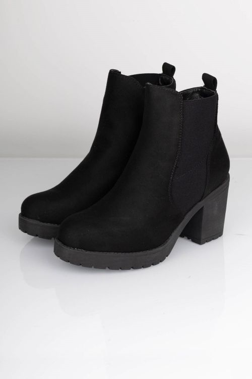 Lykke by Lykke Støvler Bellis Boot Suede Black front