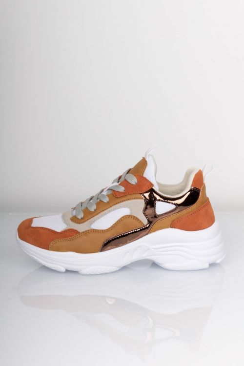Lykke by Lykke Sneakers Josephine Chunky Sneakers Kobber Earth Color Front