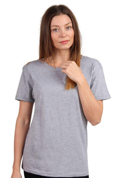 Lykke By Lykke - T-shirt - Raw Tee - Oxford Grey