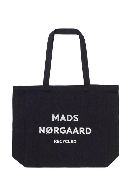 Mads Nørgaard Taske Recycled Boutique Athene Black/Silver Front