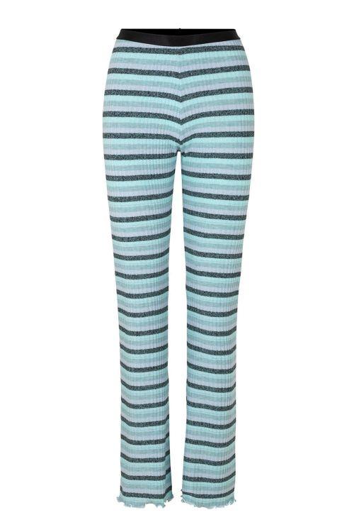 Mads Nørgaard Bukser Super Stripe Lonnie Multi Blue Front