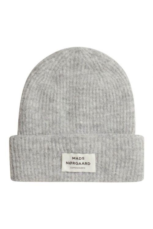 Mads Nørgaard - Hue - Winter Soft Anju - Light Grey Melange