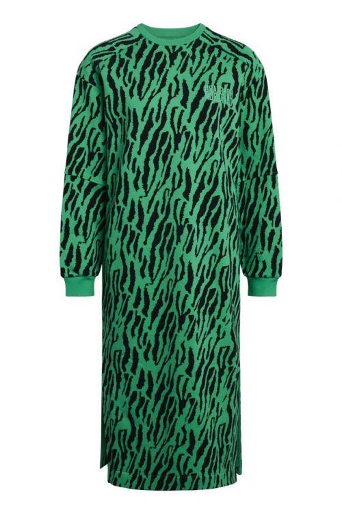 Mads Nørgaard - Kjole - Organic Sweat Dress Donna - Multi Deep Mint