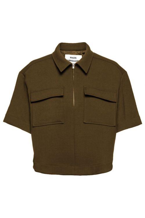 Mads Nørgaard - Skjorte - Heavy Twill Sia Shirt - Beech