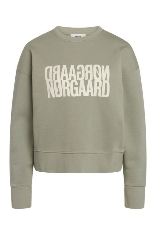 Mads Nørgaard Sweat Tilvina P Light Army Front