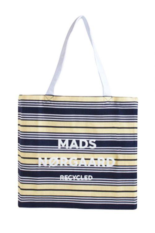 Mads Nørgaard  - Taske - Boutique Athene - Black/Pale Banana/White