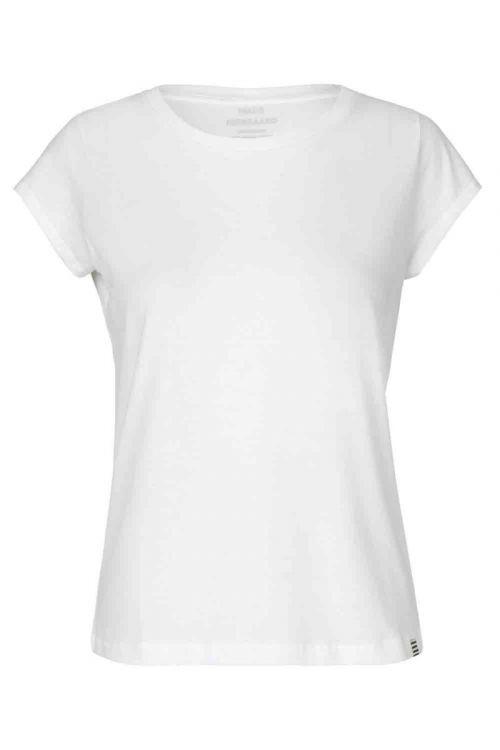 Mads Nørgaard - T-shirt - Organic Favorite Teasy Tee - White