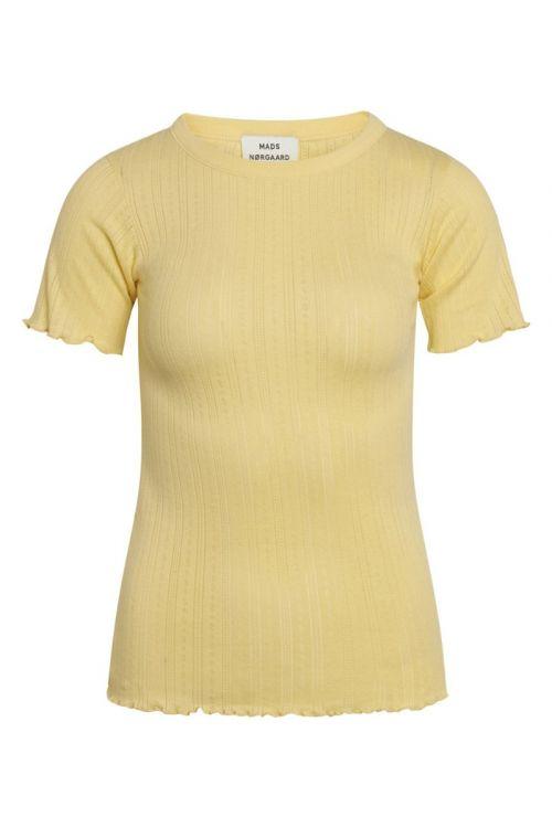 Mads Nørgaard - T-shirt - Pointella Trixa - Pale Banana