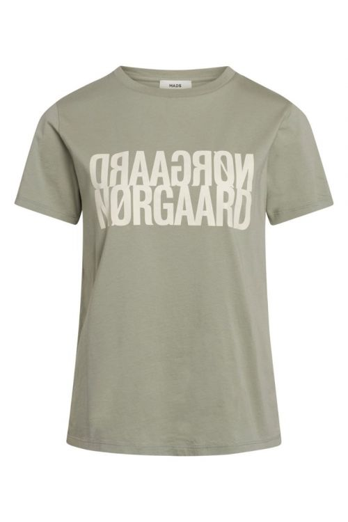 Mads Nørgaard - T-Shirt - Single Organic Trenda P - Light Army