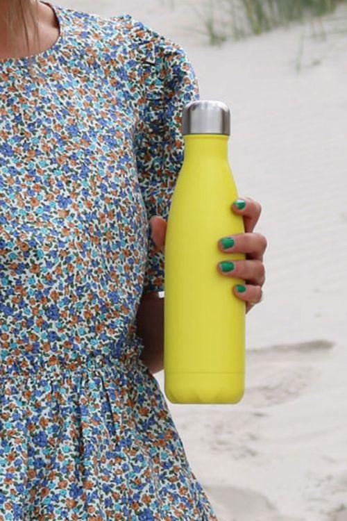 Markberg - Flaske - Markberg x Rebottle 500 ml - Neon Yellow W. Silver