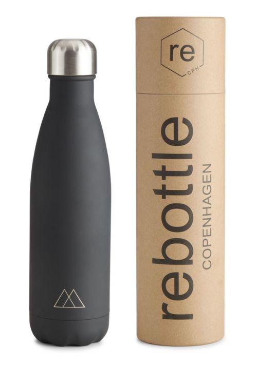 Markberg Flaske Markberg x Rebottle 500 ml Black Front