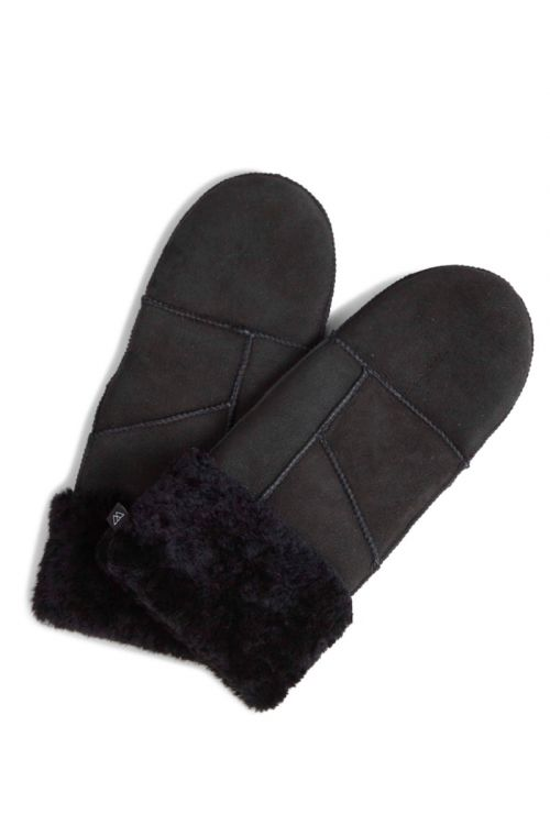 Markberg - Handsker - Bella Sheepskin Mitten - Black