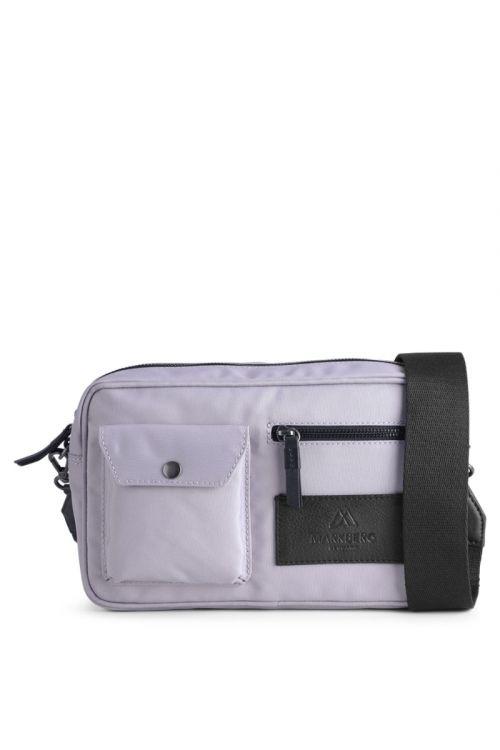 Markberg - Taske - Darla Crossbody Bag Recycled - Lilac W. Black