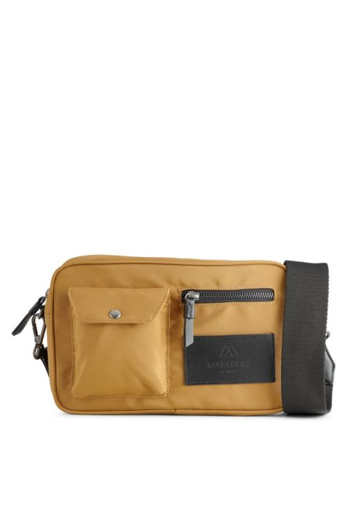 Markberg - Taske - Darla Crossbody Bag Recycled - Mustard w/Black