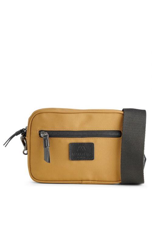 Markberg Taske Elea Crossbody Bag Recyled Mustard w/Black Front