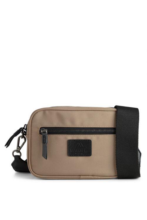 Markberg - Taske - Elea Crossbody Bag Recycled - Taupe w/Black
