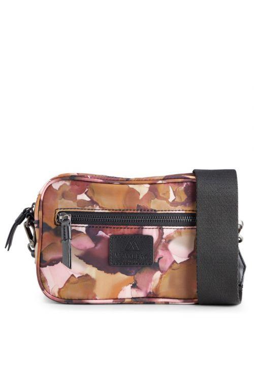 Markberg - Taske - Elea Crossbody Bag Recycled - Watercoloring w/Black