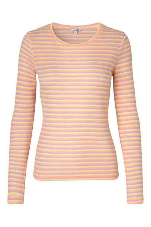 MbyM - Bluse - Lilita - Butter Pink Peach Stripe