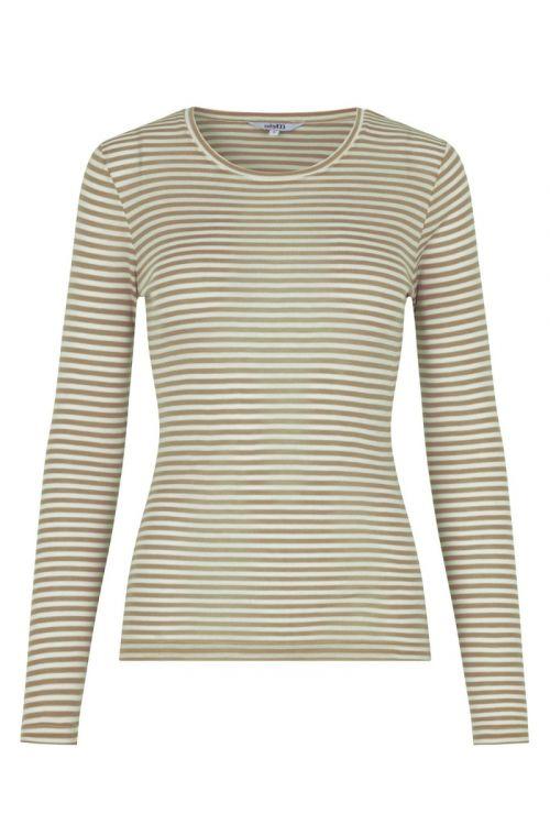MbyM Bluse Lilita Laurel Sugar Stripe G76 Front