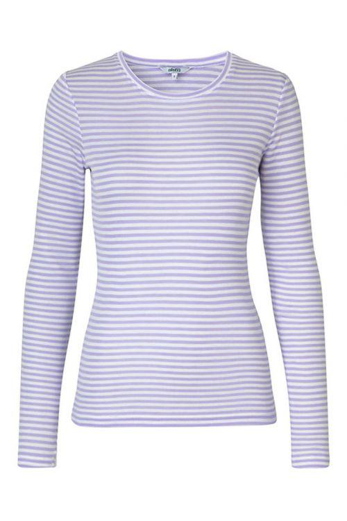 MbyM - Bluse - Lilita - Lavender Sugar Stripe