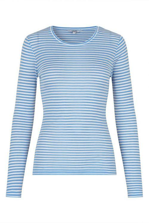 MbyM Bluse Lilita Serenity Sugar Stripe Front