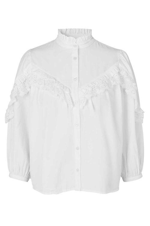 mbyM Bluse Romanova Blouse White Front