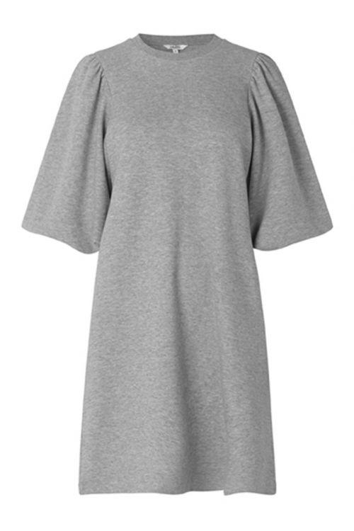 MbyM Kjole Emmaline Light Grey Melange Front