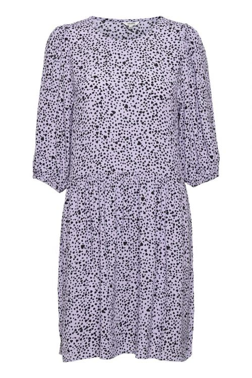 MbyM - Kjole - Reya Dress - Lavender Print