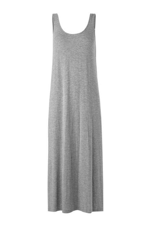 mbyM Kjole Tesla Dress Light Grey Melange Front