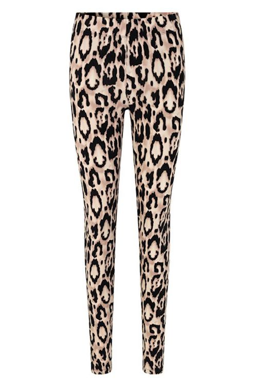 mbyM Leggings Karren Pant Bella leopard Print Front