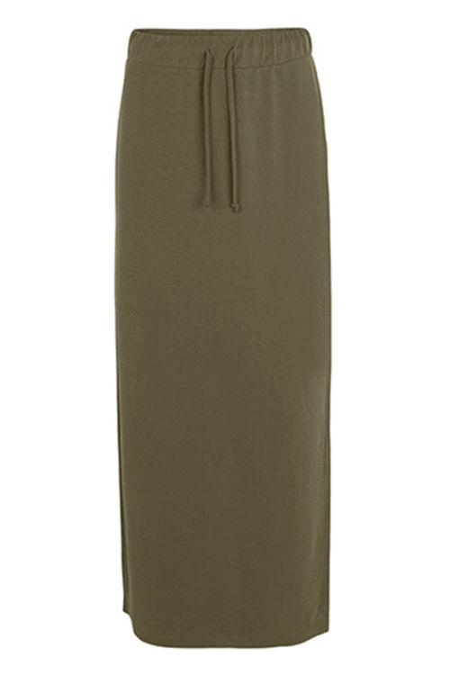 mbyM Nederdel Florrie Skirt Military Olive Front