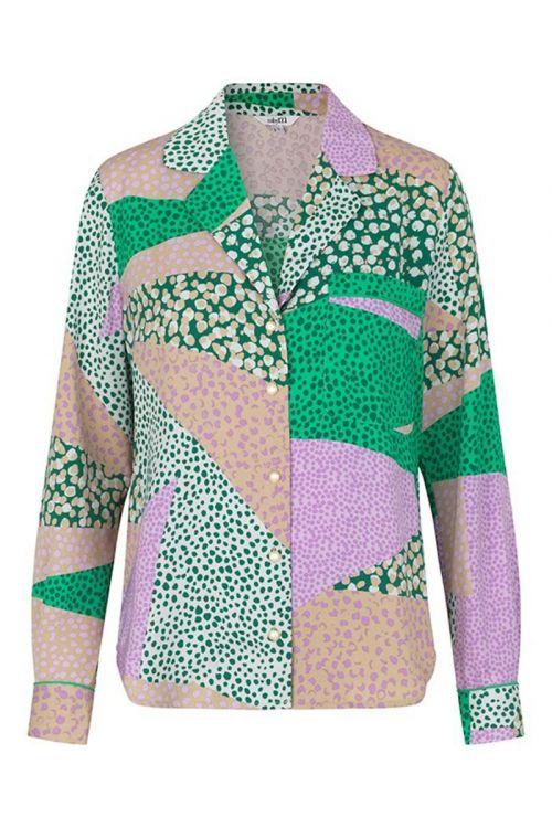 MbyM - Skjorte - Emilee - Delmarilla Print Green