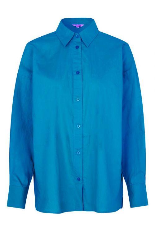 MbyM - Skjorte - M-Brisa Boxy - Strong Blue