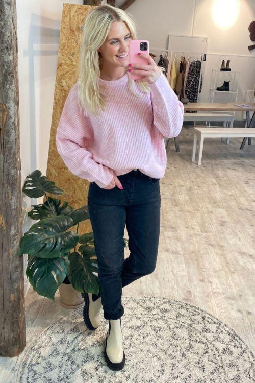 MbyM - Strik - Gillian Knit - Begonia Pink Melange